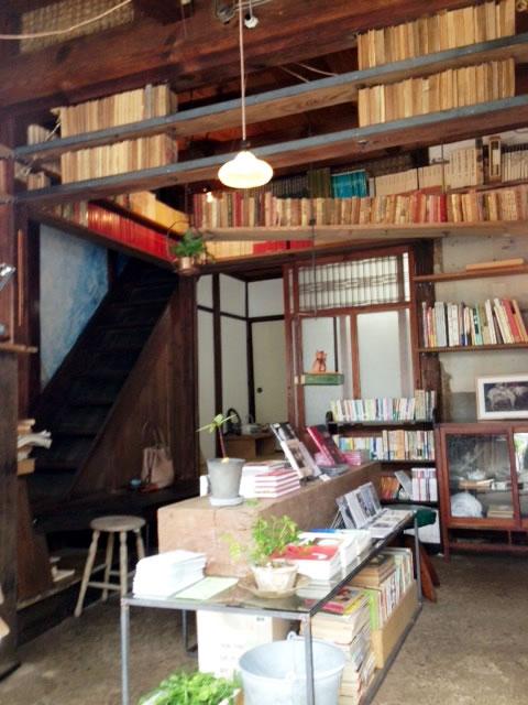 尾崎かおる英語教室内「邯鄲堂」古書店
