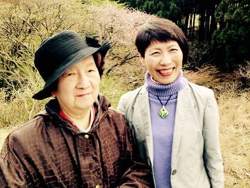 国際女性地位協会 元文部大臣・赤松良子さんと