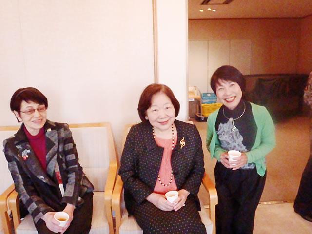 高齢社会を良くする女性の会 樋口恵子さんと